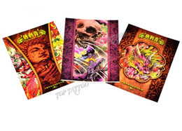 Wholesale Hardcover A4 Tattoo Manuscript Tattoo Flash Book For Tattoo Supply EMS Free