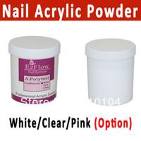 Full Natural Tips Square  Nail Tips Free Shipping 3 colors Nail Acrylic Powder Crystal Powder clear white pink Nail Builder acrylic color