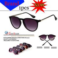 Wholesale 2014 Luxury Retro Round Eyeglasses Fashion Designer Vintage Women Sunglasses Brand Sun Glasses Cycling Eyewear Glasses colors JL940