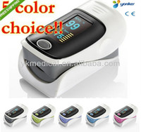 Wholesale Five Color CE Approved Fingertip Pulse Oximeter OLED display SPO2 monitor
