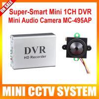 cctv super dvr - Mini HD Ch Super Smart Mini CCTV DVR Board Real Time Degree View tvl lux Audio Night Vision Small Indoor CCTV Camera