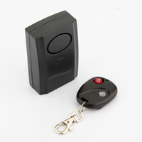Wholesale Security Alarm Door Window Detector Wireless Vibration Remote Control Home House