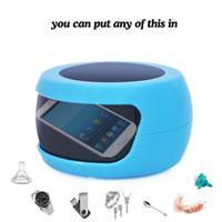 Wholesale Mini Portable UV Sterilizer Sanitizer Bule USB x AAA