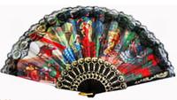arts and crafts style - New Style and Fashion Spanish Fan Crafts Art fan Plastic Fan Inch plastic Fan Dance Fan