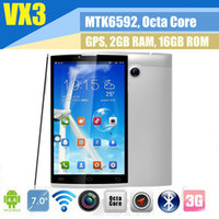 Wholesale CHUWI VX3 inch G Tablet Phone MTK6592 Octa Eight Core Android GPS Phablet GB RAM GB ROM Dual Sim HDMI Bluetooth