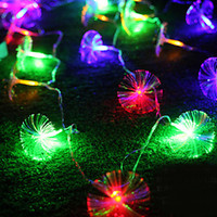battery operated fiber optic lights - New Year xAA Battery Operated M Fiber Optic LED String Fairy Light Cristmas Christmas Lights for Xmas Party Decoration