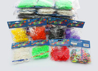 Cheap Unisex rainbow Loom kit Best 8-11 Years Multicolor loom bands