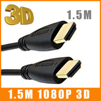 Wholesale 1 M FT HDMI to HDMI Cable v1 Audio Video Cable cable Version Gold P