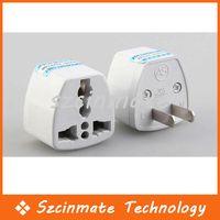 Wholesale New Universal EU UK AU to USA Travel Power AC Plug Adapter Converter