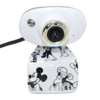 Wholesale 1 M PC Camera USB HD Webcam Camera Web Cam with MIC for Computer PC Laptop Webcam Camera With Mic