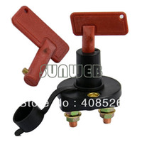 TK0342# Black :6cm(Diameter)7.5cm(Height) New Battery Disconnect Kill Cut Off Cutoff Switch Car Boat Truck Brass Terminals DropShipping TK0342