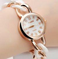 Dress Women's Water Resistant 18k sliver gold plating bracelet ceramic watch ladies women dress rhinestone watch japan movement quartz watch
