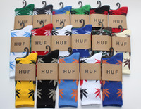 Socks Men Cotton 300pairs lot Hot-sale Huf Plantlife Socks! Cannabina Multiple-Colors Brand Marijuana Weed Leaf Skateboard Socks