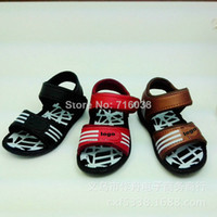 Wholesale 2014 Small Medium Large soft bottom boy sandals children sandals baby boys and girls sandals
