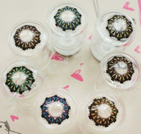 Wholesale DHL arrive within days magic colors pairs look Contact lenses lens Color Contact Tones