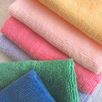 Cotton Furniture Eco Friendly N20CM Microfiber Cleaning cloth New 2014 Novelty households wipes steam mop kitchen towel Rag Car care rag