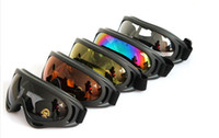 PC motorcycle frame - New X400 UV Protection Outdoor Sports Ski Snowboard Skate Goggles Motorcycle Off Road Cycling Goggle Glasses Eyewear Lens