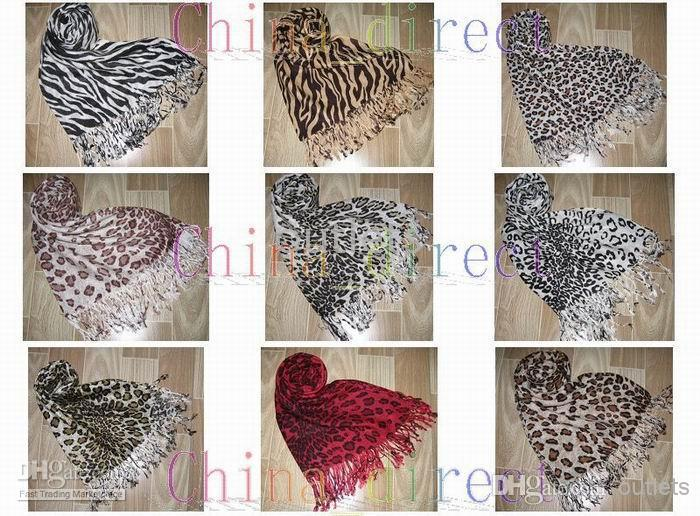 Animal Print Scarves Scarf