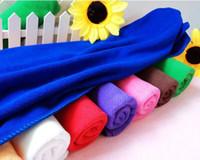 Brush Sponges, Cloths & Brushes 28 cm N 70 New 2014 Microfiber Cleaning cloth Novelty households wipes steam mop bathroom towel Car care rag