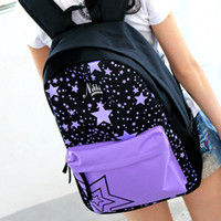 Wholesale Fashion Boy Girl Backpack School Student Schoolbag Travel Outdoor Bag Canvas ipad