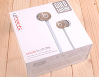 Wholesale Authentic GOLD EDITION urBeats In Ear Headphones Black Factory Sealed YJ