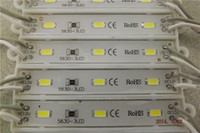 Wholesale 5630SMD LED module Light Lamp IP66 Waterproof LED Modules For Sign Letters LED Back Light SMD led DC V LED Modules Display Modules
