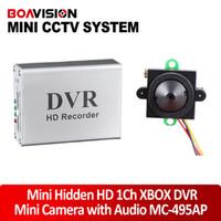 Wholesale mini HD ch Super Smart Mini cctv DVR Board real time degree view tvl lux audio night vision small indoor cctv camera