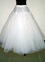 tulle petticoat - New White Layer Tulle Wedding Dress Underskirt Bridal Petticoats