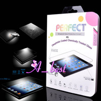 Wholesale New Anti shatter and Oleophobic Coated Tempered Glass Protection Screen Protector Guard Shield For ipad air ipad ipad mini