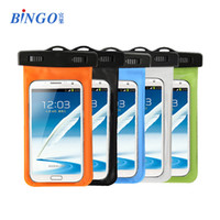For Apple iPhone Plastic  2014 PVC Waterproof Phone Case Pouch Underwater Phone Bag With Strap For Samsung galaxy S5 S3 S4 For iphone 4 4S 5 5S 5C HTC Watch ect