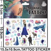 New Arrival 2014 Children Toys Cartoon Body Tattoos Sticke F...