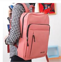 Wholesale Korean Vintage Canvas Unisex Backpack School Knapsack Travel Bag College Schoolbag Boys Girls Student Rucksack Sports