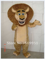 TV & Movie Costumes Unisex Animal Hot sale! cosplay mascot costumes The lion Cartoon Characters for sale anime carnival costume kids party free shipping