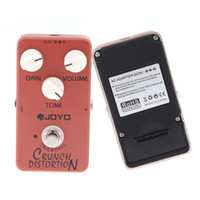 Wholesale Aluminum Alloy Joyo JF Crunch Distortion Electric Guitar Effect Pedal with Full Stack Gain Three Buttons I270