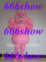 TV & Movie Costumes Unisex Animal Hot sale! cosplay mascot costumes pink Yo Gabba Gabba Characters for sale anime carnival costume kids party free shipping