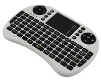 Wholesale Hot Rii mini i8 RT MWK08 Ghz Fly Air Mouse Wireless Keyboard Combos Remote FOR Android mini PC TV Box Original Freeshipping