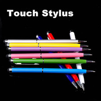 Wholesale Mix Color in Muti fuction Capacitive Touch Screen amp Writing Stylus and Ball Point Pen for all Smart CellPhone amp Tablet