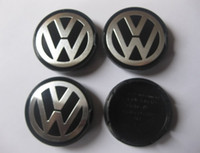 Wholesale 55mm Wheel Center Cap Badge Emblem For Volkswagen VW PASSAT BORA