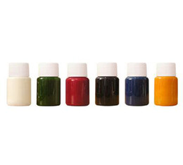 Wholesale 6 Body paint pigment waterproof for Temporary airbrush tattoo good quality