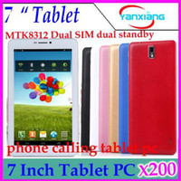 Android 4.2 buy cheap android tablet - DHL Inch Cheap Tablet PC Hot Buy Best Quality G Android Tablet Pc MTK8312 Dual Core GHZ G Call Phone BT GPS Camera YX MID