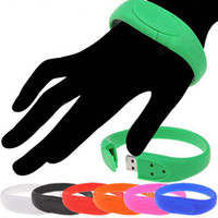 usb wristband - Silicone Bracelet Flash Drive Sports Bracelet USB Memory Stick Wristband USB Pen Drive Real GB GB GB GB USB Flash Disk