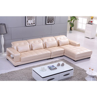 modern sofa leather - min order usd or ft containerNaoto new modern leather sofa living room sofa with storage function first layer of leather sofa Specia