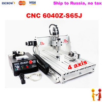 Guangdong China cnc cutting - Freeshipping to Russia no tax CNC Z S65J axis engraving machine CNC w Engraver Cutting Drilling Milling Machine