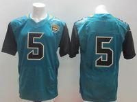 Football Men Short #5 Bortles Green Elite Jersey 2014 New Draft American Football Jerseys Highest Quality Mens Cheap Stitched Sports Jerseys for Sale