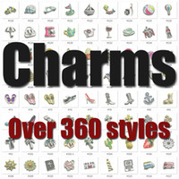 Wholesale The hot selling newest floating charm fashion floating locket charm living locket charm alphabet charms number charms