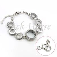 Cheap Link, Chain floating charm bracelet Best Trendy Women's floating locket bracelet