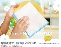 Cotton dish detergent - SMILE MARKET pieces Advanced Detergent towel Not contaminated with oil rag Dish cloth