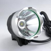 800 Люмен CREE XML T6 LED велосипед свет Headlamp 3 Режимы велосипеда свет велосипеда Передняя лампа HeadLight + оголовье + зарядное устройство + 8.4V блок батарей