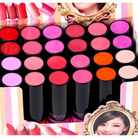 the balm cosmetics - Lipstick Makeup Lipsticks High Quality Red The Balm Colors Cosmetics Make Up Lipstick Set Lip Stick Waterproof Lip Tint H7977