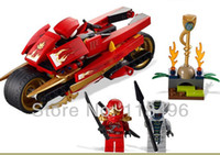 Wholesale Ninjago Phantom Ninja minifigures generations Kay wheel motorcycle building block sets eductional kids toys